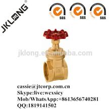 J1011 Vanne à porte en laiton