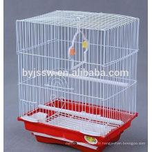 Cage à oiseaux en acier galvanisé