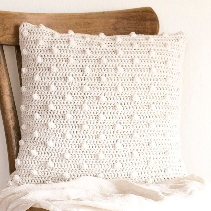 6 5crochet Cushion Cover