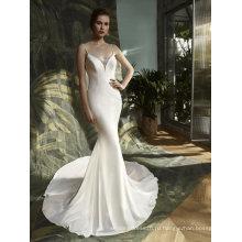 Русалка Атласная Бисероплетение Вечерние Свадебные Свадебное Платье
