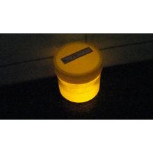 orange light luminous powder