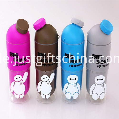 Promotional Food Grade Kids Sports Bottle with Tray