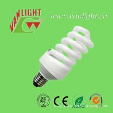 Alta eficiencia T3 completo espiral CFL 25W Energey ahorrador de energía de