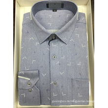 Garngefärbtes Business-Shirt