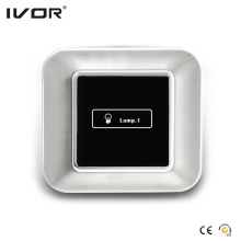 1 Gang Lichtschalter Touch Panel Edelstahl Umrissrahmen (AXL-ST-L1)