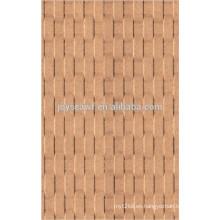 Tablero de pared de panel duro ladrillo / tablero duro e0 / tableros decorativos de tableros duros
