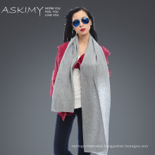 New fashion100% wool scarf pashmina shawl factory from Inner Mongolia