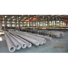 Molde de acero de la línea de producción de postes de hormigón