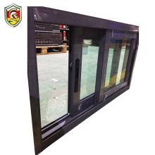 Uganda style cheap house used double tempered glass sliding window kesenbao window