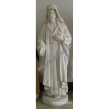 Carved Stone Carving Marble Jesus Statue for Religious Sculpture (SY-X1400)