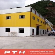 2015 grand bâtiment préfabriqué adapté aux besoins du client de structure métallique de grande envergure
