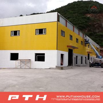 2015 Pth Customized Prefab Steel Structure Almacén / Taller