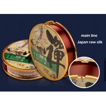 Super Tension Japan Raw Silk Nylon Fishing Line Main Line and Subline
