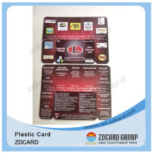 Plastic Printing Die Cut Cards/PVC Combo Cards