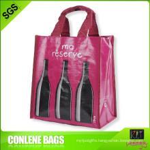 PP Handle Bag for 6 Bottles Wine