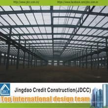 Bâtiment d'entrepôt en acier professionnel et de haute qualité Jdcc1026