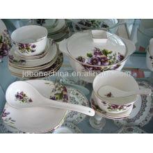Café, té, pote, azúcar, creamer, royal, hueso, china, dinnerware, cena, conjunto