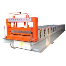 Botou hebei xinnuo 760 debout joint métallique panneau de toit auto-verrouillage en acier feuille de toit tuile rouleau formant la machine