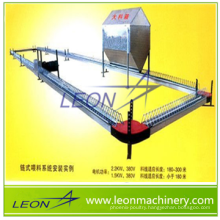 LEON series chicken parents house chain feeder system for sale