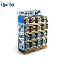 ODM и OEM Супермаркет торговый центр стенд,Поставщик фабрики изготовленный на заказ Дисплей Паллета картона