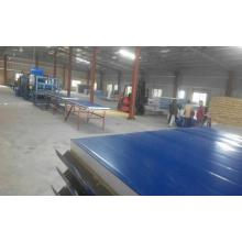 Hidden Type Wool Composite Sheet Roll Forming Machine