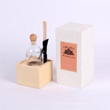 Couvercle de papier écologique et emballage de boîte cosmétique de base pour le parfum