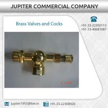 Válvulas de latón probadas de alta calidad y probadas para la venta