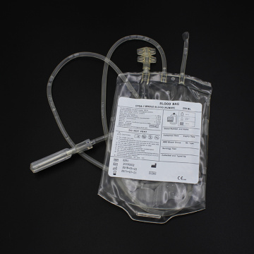 Disposable Rolled edge Blood Collection Bag 250ml 450ml 500ml