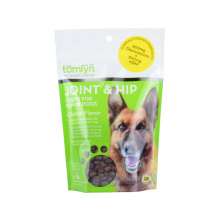 Biobase Recycle Pet Feed Dog Cat Food Snack Fruit Printed Zipper Food Packaging Ziplock Laminated Paper Zip Lock Bag Packaging