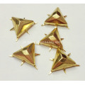 12mm Flat-Top Nailheads Triangular para sapatos