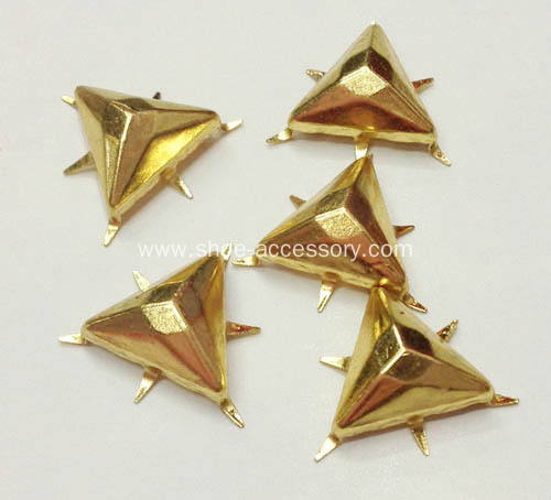 12mm Flat-Top Triangular Nailheads for Shoes