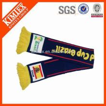 Мода пользовательских зимой вязание вентилятор шарф