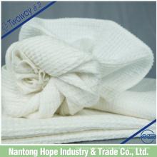 Pano de prato 100% algodão feito de algodão puro branco
