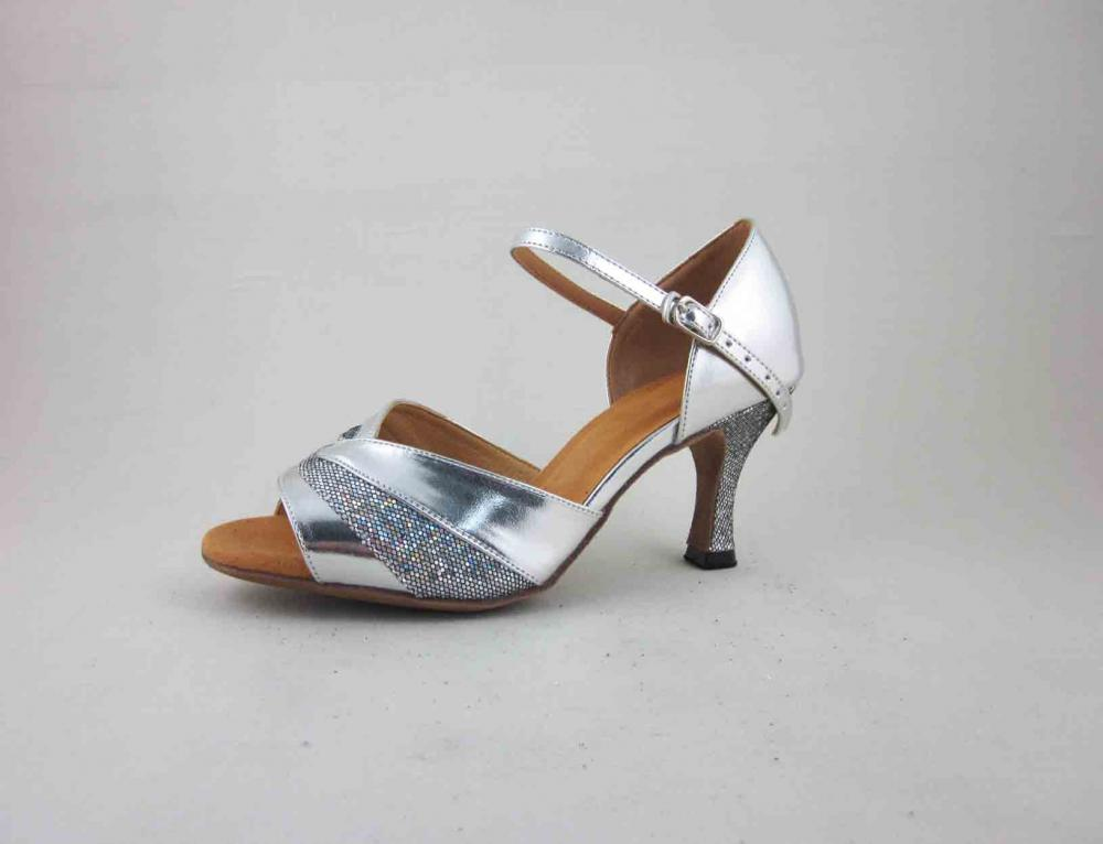 Silver Dance Shoes