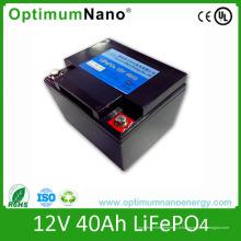 Batterie de démarrage LiFePO4 batterie 12V 40ah