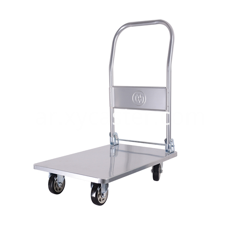 Platform Trolleys With Pvc Wheels