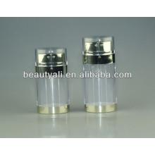 20ml 30ml 60ml dual pump airless bottle, double pump, cosmetic bottle