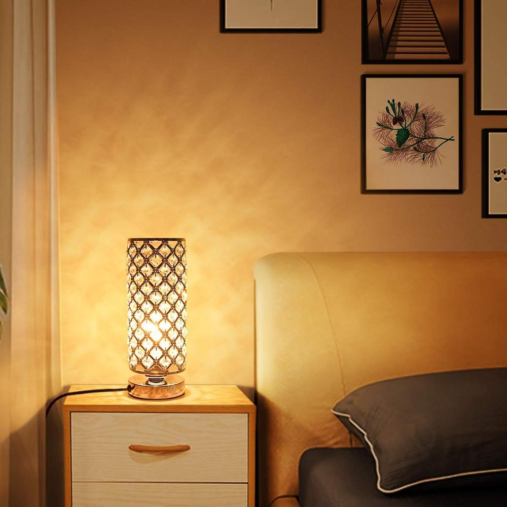 Application Gold Side Table Lamps