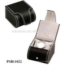caixa de relógio de couro para fábrica único relógio