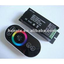 Controlador sem fio do diodo emissor de luz do toque do RGB