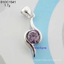 Jewelry-H& a CZ Pendant (61DC1541)