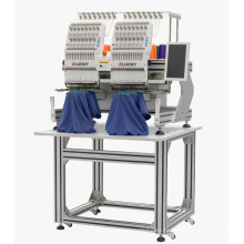 Elucky high speed computerized embroidery machine prices with 15 colors