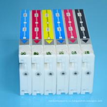 6 Цвет совместимый патрон чернил для Epson Д700