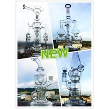 Heißer Verkauf neuer Entwurfs-Recycler-Glaswasser-Rohr mit Großhandelspreis