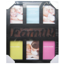 6, 4 von 6 klassische Familie Collage-Frame öffnen