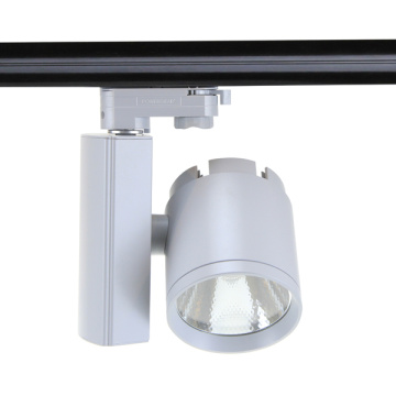 LED Track Light 30W Commercial Lighting Angle ajustable