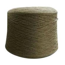 Fuente de la fábrica Mongolia marrón materia prima color hilado de cachemira sin tinte