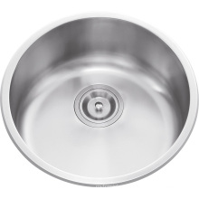 L5302 Stainless Steel Round Single Bowl Sink
