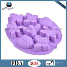 Insetos Molde de Chocolate de Silicone Ice Cube Bandeja Cake Tool Sc32