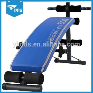 Crescendo Fitness Curved Sit Up Adjustable Ab Bench